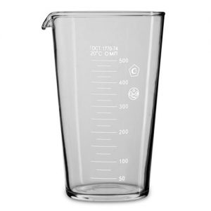 Мерный стакан 500 мл. ГОСТ 1770-74 /9/