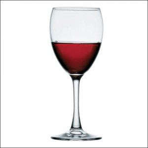 Бокал для вина 240 мл. d=73, h=175 мм бел. Империал плюс Б /12/