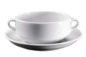 ZIEHER Catering Блюдце 17 см для чашки бульонной 400мл (арт.3960.O), фарфор