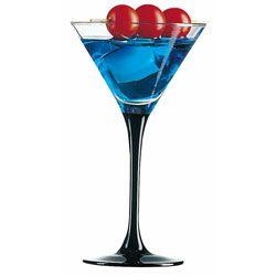 Бокал для мартини 150 мл. d=95, h=165 мм Домино Блэк /8/ Z