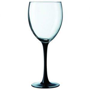 Бокал для вина 360 мл. d=84, h=206 мм Домино Блэк /8/ Z