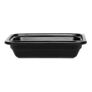 Гастроемкость GN 1/4-65 керамическая, черная