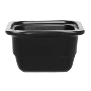 Гастроемкость GN 1/6-100 керамическая, черная