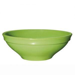 Салатник d=240 мм. 2 л. h=9 см. керамич. светло-зеленый