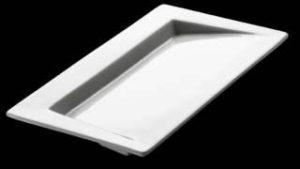 ZIEHER Modul Тарелка для сервировки прямоугольная 22х11 см, фарфор