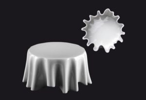ZIEHER DressCoat Тарелка для сервировки d=13 см, h=6,5 см, фарфор