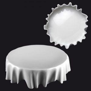 ZIEHER DressCoat Тарелка для сервировки d=22 см, h=6,5 см, фарфор