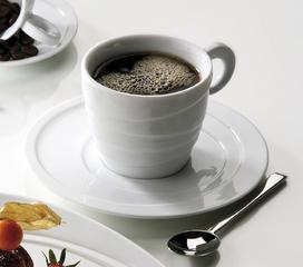 ZIEHER Ribbon Блюдце 16 см для чашки (арт. 4473.О или 4474.О), фарфор