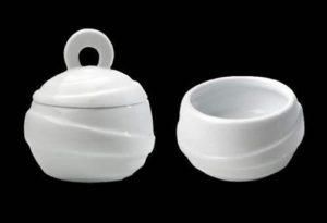 ZIEHER Ribbon Крышка для сахарницы арт. 4483, фарфор