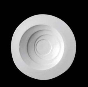 ZIEHER Ribbon Тарелка глубокая 28 см, фарфор