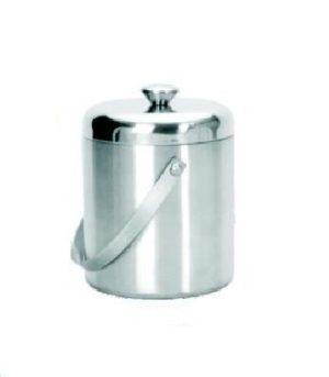 Емкость для льда d=15 см. 1,7 л. с крышкой-куполом, нерж. MGSteel