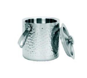 Емкость для льда d=15 см. 1,7 л. гофрир, нерж. MGSteel