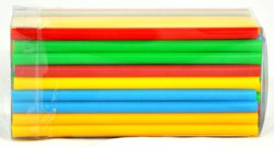 Трубочки кокт.0,5*12,5 см. 100шт. цветные «MINI» FM /6/