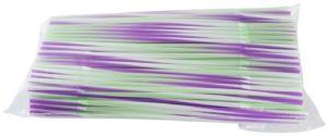 Трубочки кокт.0,5*24 см. 200 шт полосатые с гофрой FM /10/