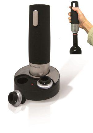 Пробка вакуумная для вина набор 2 шт.+ электрическая помпа VB /4/