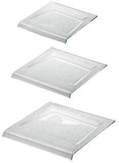 ZIEHER Modul Тарелка для сервировки квадратная 21,5х21,5см, стекло
