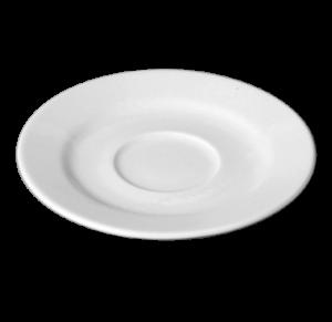 Блюдце круг. 15 см., фарфор