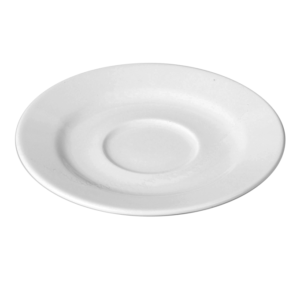 Блюдце круг. 17 см., для бульонниц,салатника BASB12,чашек BACU28,BANC28, фарфор