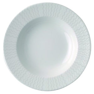 Тарелка круг. 23 см., глуб., фарфор
