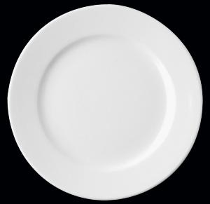 Тарелка круг. 13 см., фарфор