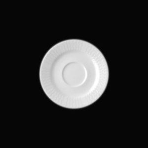Блюдце круг. 13 см., для чашки 9cl, фарфор