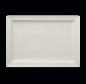 Тарелка прямоуг. 33×23 см., плоск., фарфор
