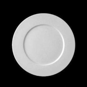 Тарелка круглая d=16 см., плоская, фарфор