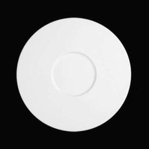 Тарелка круг. 29 см., плоск., фарфор