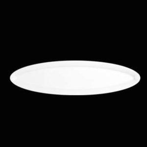 Тарелка овал. 30×8 см., плоск., фарфор