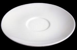 Блюдце круг. 16 см., к бульоннице, фарфор