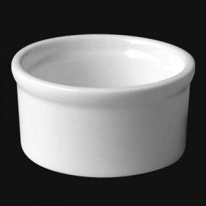 Кокотница круг. 5 см., 4cl, фарфор