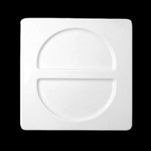 Тарелка «Fennel» квадрат. 30х30 см., плоск., фарфор