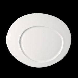 Тарелка «Tamarind» овал. 30×12 см., — 18cl, глуб., фарфор