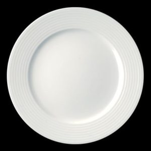 Тарелка круг. 15 см., плоск., фарфор