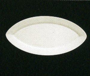 Тарелка овал. 40 см., плоск., фарфор