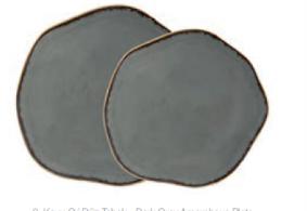 тарелка с волнообразным краем  32CM