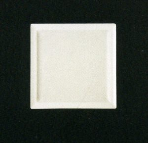 Тарелка квадрат. 30 см., плоск., фарфор