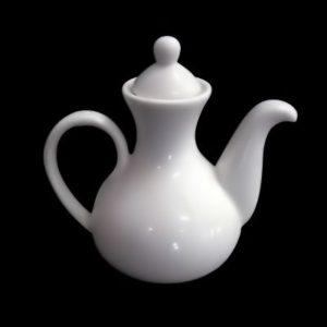Емкость в виде чайничка 12 cl., для масла или уксуса, фарфор