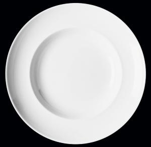 Тарелка круглая d=15 см., плоская, фарфор