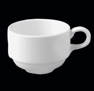 Чашка круглая штабелируемая 20 cl., фарфор