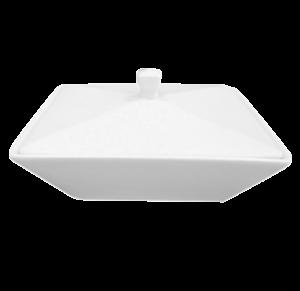 Салатник квадрат. 15х15см., 42 cl., фарфор