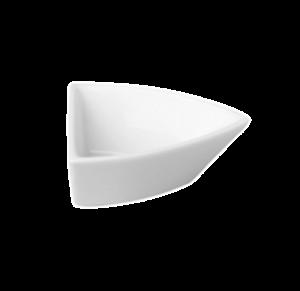 Салатник треуг. 7×6см., фарфор