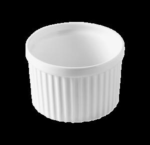 Кокотница круг. 10x10x7 см., 33cl, фарфор