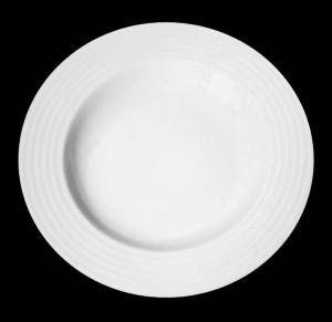 Тарелка круг. 30 см., для пасты, фарфор