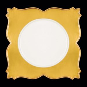 Тарелка квадрат. 26 см., плоск., фарфор
