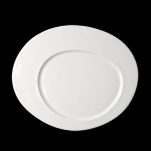 Тарелка «Cayenne» овальная 34 см., плоск., фарфор