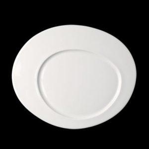 Тарелка «Cayenne small» овальная 19 см., плоск., фарфор