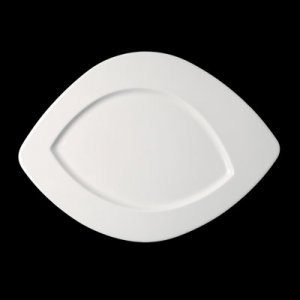 Тарелка «Vanilla small» овальная 19 см., плоск., фарфор