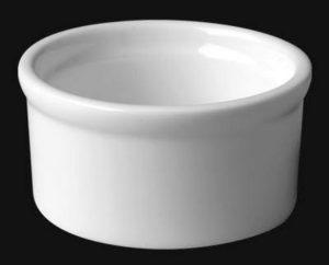 Кокотница круг. 8 см., 10cl, фарфор